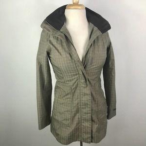 Marmot membrain full zip drawstring hooded coat